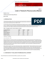 New Regulatory Trends in Thailand's Pharmaceutical Market