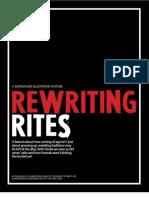 Rewriting Rites