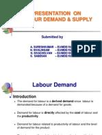 Labour Demand & Supply