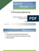 VI Performance Monitoring