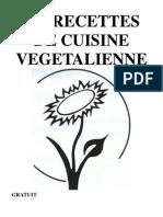 Recettes Cuisine Vegetaliennes