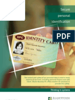 ANY_Secure Personal Identification
