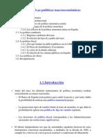 Tema 1. Las políticas macroeconómicas 2011-12 ALUMNOS