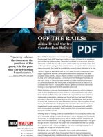 Off the Rails - AusAID and Troubled Cambodian Railways Project