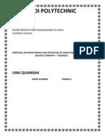 Proposal - Corrections