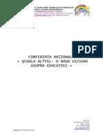 Confer Int A Nationala ,, Scoala Altfel,, 53