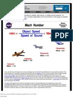 Mach Number