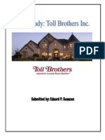 Toll Brothers 2007