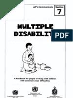 Multiple Disabilities - Handbook