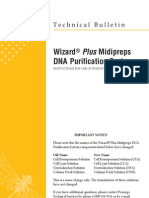 Wizard® Plus Midipreps DNA Purification System