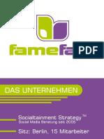 Das Social Media Unternehmen famefact 2012