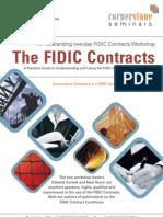 Cornerstone Seminars Fidic Contracts[1]