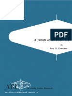 Poverty - Definitiion & Perspective by Rose Friedman