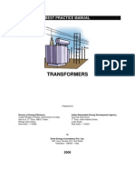 Best Practice Manual -Transformers