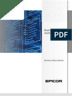 Epicor Business Architecture