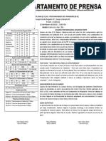 Reporte #9 Guaros-Trotamundos
