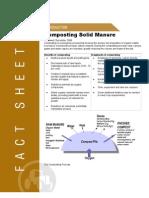 Composting Solid Manure - Printer Friendly
