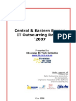 CEE IT Outsourcing Review 2007