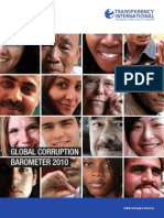 TI Global Corruption Barometer 2010 Spreads 01 08
