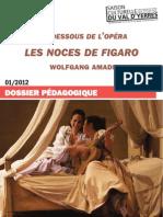DP Les dessous de l'opéra - Noces de Figaro