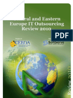 CEE IT Outsourcing Review 2010