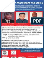 Fraud and Forensic Conference