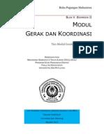Semester 2 2012 Modul Gerak Dan Koordinasi Buku Pegangan Mahasiswa