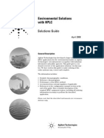 HPLC Solutions for Environmental