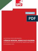 Dialogpapier | Eckpunkte für eine zukünftige Wirtschaftspolitik in Niedersachsen