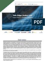 Info Edge Jan2012