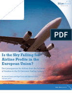 Is the Sky Falling for Airline Profits in the European Union?
