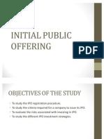Initial Public Offering1