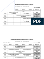Timetable DS