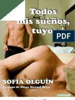 Extracto Todos mis sueños, tuyos. Sofía Olguín