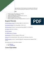 Advanced Web Design - CS 142 OL1 - Course Syllabus