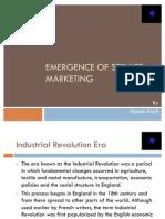 Evolution of Service Marketing