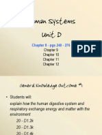 Human Systems Chapter 8 - Digestion