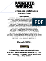 painless wiring harness install instructions ignition system rh scribd com