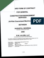 RWA - Tee Contract