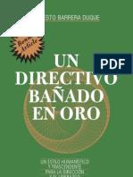 Un directivo bañado en oro, Ernesto Barrera Duque