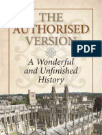 The Authorized Version A Wonderful and Unfinished History by C. P. Hallihan