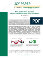 Ferrara - Social Security Reform