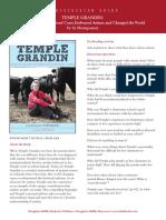Temple Grandin Discussion Guide