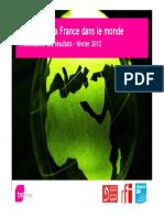 L'image de la France dans le monde