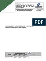 Procedimiento Para Fabricacion y Montaje de Estructura Metalica Galvanizad1
