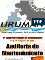 Uruguay 2007 - Auditorias de Mantenimiento - Lourival Tavares