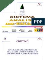 Sistema Analisis de Fallas - CVG Bauxilum