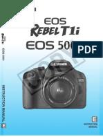 EOS 500D Manual