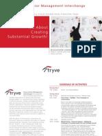 Stryve Senior Management Interchange Agenda - May 2012