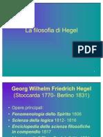 riepilogo su Hegel
